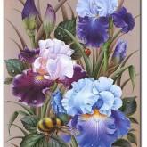 Leveranstid 1,5v - Blomma, fyrkant 40x50cm
