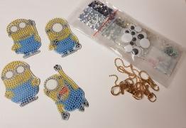 Nyckelring 4 pack Minions - Nyckelring 4 pack minions