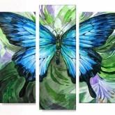 Fjäril 3 delar