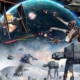 Star wars, fyrkantig, 80x60cm