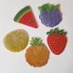 Nyckelring 5 pack frukt och bär - Nyckelring 5 pack frukt och bär