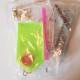 Nyckelring 5 pack frukt och bär