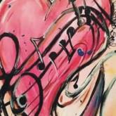 Hjärtats melodi, fyrkant, 30x40cm