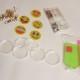 Nyckelringar 5 pack emojis