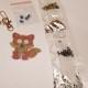 Nyckelring djur 4 pack