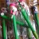Polymér dutt penna rund spets - Grön