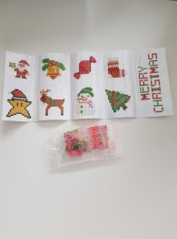 Stickers, Merry Xmas 9 pack - Sticker merry Xmas 9 pack