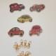 Nyckelring 5 pack vintage bilar - Nyckelring 5 pack vintage bil