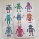 Stickers robotar - Stickers robot