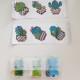 Stickers, kaktus 6 pack - Sticker kaktus 6 pack