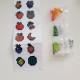Stickers, frukt 12 pack - Stickers frukt 12 pack