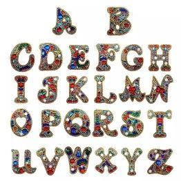 Nyckelring bokstav A - Z - Nyckelring bokstav A