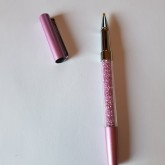 Duttpenna glitter med tyngd, lila