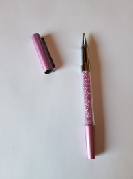 Duttpenna glitter med tyngd, lila - Duttpenna glitter med tyngd, lila
