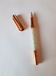 Duttpenna glitter med tyngd, rosé guld - Duttpenna glitter med tyngd, rosé guld