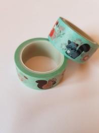Decoupage tejp djur 15mm - Decoupage tejp djur 15mm