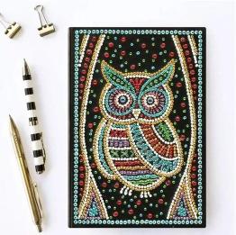 Notebook, 64 sidor uggla - Notebook 64 sidor uggla