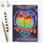 Notebook 64 sidor, fåglar
