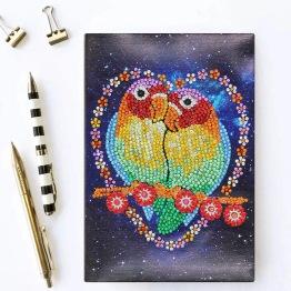 Notebook 64 sidor, fåglar - Notebook fåglar