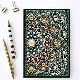 Notebook 64 sidor, halv mala - Notebook halv mala