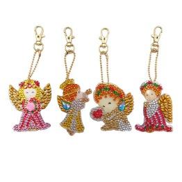 Nyckelring 4 pack änglar - Nyckelring 4 pack ängel