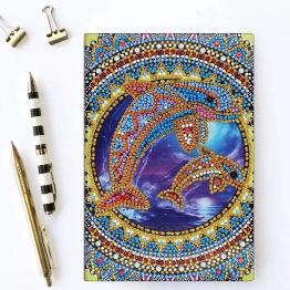 Notebook 64 sidor, delfiner - Notebook delfiner