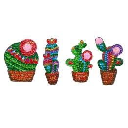 Nyckelring 4 pack kaktus - Nyckelring 4 pack kaktus
