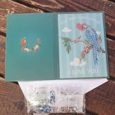 Kort, our love have Wings - i love you 18cm x 13cm