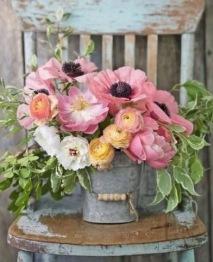 Blomster hink, fyrkant 50x60cm - Blomster hink 50x60cm
