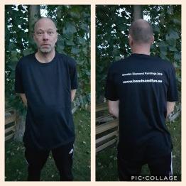 T-shirt herr, välj din storlek - T-shirt herr svart storlek XL