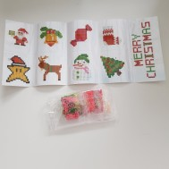 Stickers, Merry Xmas 9 pack