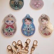 Nyckelring Marushka 5 pack