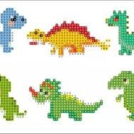Stickers dinosaurier 6 pack