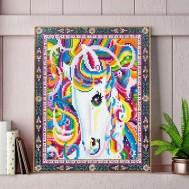 Pony färgglad