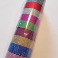 Decoupage tejp, glitter utan mönster