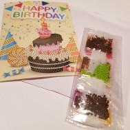 Tårta gratulationskort