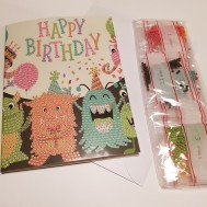 Monster gratulationskort