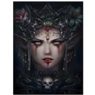 Goth tjej, fyrkant 50x70cm