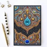 Notebook 64 sidor, blå ögat