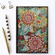 Notebook, 64 sidor blommor