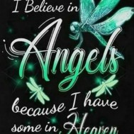 Angels, fyrkant, 30x40cm