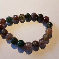 Natural Indian agate 8mm