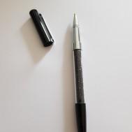 Duttpenna glitter med tyngd, svart