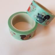 Decoupage tejp djur 15mm