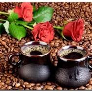 Leveranstid 1,5v - Kaffe för två, fyrkant