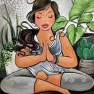 Leveranstid 1,5v - 2v. Meditation, fyrkant 30x40cm