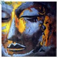 Buddha, fyrkantig 50x50cm