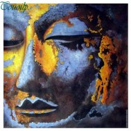 1,5-2v leveranstid - Buddha, fyrkantig 50x50cm