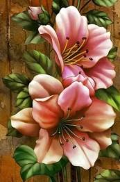 Klättrande blommor, fyrkantig 50x60cm -