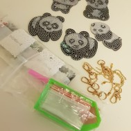 Nyckelring Pandor 5 pack